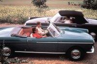 Im September 1961 folgt das 404 Cabriolet als Nachfolger des offenen 403