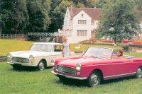 Das Design des 404 wies Ähnlichkeiten mit Fahrzeugen von Rolls-Royce und Fiat auf