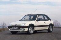 Im Februar 1986 startet die Produktion des 205 Cabriolet