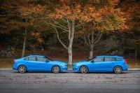 """Die """"leistungsstärksten Volvo-Serienmodelle aller Zeiten"""", wie die Schweden ihre auf 270 kW/367 PS gesteigerten Top-Versionen der 60er-Baureihe selbst anpreisen, sind ab sofort zu Preisen ab 68.000 Euro für den S60 und 69.600 Euro für den V60 im Handel"""