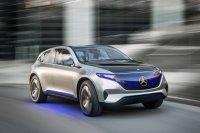 Auch Mercedes gibt mit der Studie Generation EQ Ausblick auf ein batterieelektrisches Modell und eine neue Submarke für elektrisch getriebene Autos