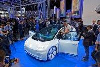 VW stellt in Paris seine E-Mobilitätszukunft in Form der Studie I.D. vor