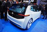 """Wenn der VW I.D. (deutsch buchstabiert """"Idee"""") in etwas mehr als drei Jahren auf den Markt kommt, will er je nach Fahrweise bis zu 600 Kilometer pro Batterieladung schaffen"""