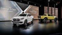 Zur Premierensause der neuen Baureihe hat Mercedes gleich zwei Studien gebracht
