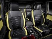 Ganz so farbenfroh und edel wie die X-Class-Konzeptfahrzeuge wird man sich die Serienmodelle wohl nicht bestellen können