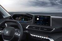 Wie bei anderen Peugeot-Modellen blickt der Fahrer nicht durch, sondern über dem Lenkrad auf das volldigitale Kombiinstrument