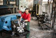 Einem deutschen Automechaniker muss die Werkstatt von Jorge Luis Hernandez wie das Paradies vorkommen