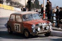 Schnelle Kleinwagen wie der Mini Cooper machten Ende der 60er Furore