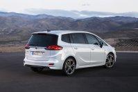 Mit knapp 4,70 Metern zählt der Opel Zafira zu den längsten Kompakt-Vans