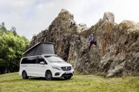 Auf der Caravaning, Motor, Touristik (CMT) 2017 stellt Mercedes das neue Freizeitmobil Horizon vor