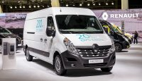 Der Renault Master ZE feiert auf der European Motor Show in Brüssel seine Weltpremiere