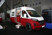 Ein Saint&Sinner-Kastenwagen wird dennoch die Knaus-Palette erweitern, denn auf Basis des Fiat Ducato ist diese zweite Neuheit der Bayern bereits die fertige Serienausführung
