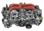 Der Boxermotor kommt von Kooperationspartner Subaru