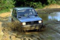 Der Fiat Panda 4x4 von 1986 gehörte mit 125 km/h zu den langsamsten Automodellen seiner Zeit