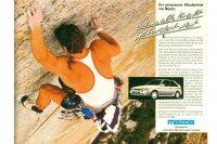 Werbung für den Mazda 323 GTX 4WD