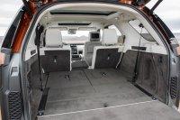 Maximal bietet der Kofferraum Platz für 2.500 Liter Gepäck