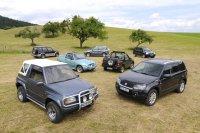 Generationentreffen von Suzuki Vitara und Grand Vitara