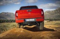 Steigungen, Abfahrten, Verschränkungsübungen und Matschlochdurchfahrten meisterte der neue Benzohne Probleme