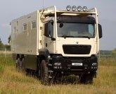 MD77h MAN TGS 6x6 heißt das jüngste Expeditionsmobil von Unicat