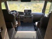 Das Fahrerhaus des MD77h bietet viel Platz und Komfort