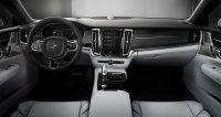 Innen bleibt es beim typischen Volvo-Stil