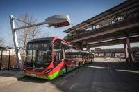 In Stockholm testet Siemens bereits das automatische Nachladen von Elektrobussen