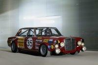 Mercedes-Benz 300 SEL 6.8 AMG als Rennsport-Tourenwagen 1971, auch unter dem Spitznamen Rote Sau bekannt