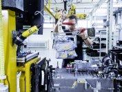 Der F-Cell-Stack aus circa 400 Brennstoffzellen wird in Nabern bei Stuttgart entwickelt