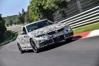 Im Testprogramm des neuen BMW 3er steht auch der Besuch der Nordschleife