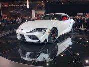 Ab Sommer 2019 steht der soeben in Detroit enthüllte Toyota Supra auch bei den deutschen Händlern
