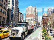 Der ganz normale Downtown-Stau - die City - Maut soll Autofahrer abschrecken