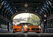 Im Filme Spectre war der Jaguar CX75 in einer wilden Verfolgungsjagd zu sehen