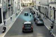 Moderne Autos wissen, wie die Straße vor ihnen aussieht