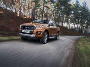 Auch der Pick-up Ford Ranger nimmt 3,5-Tonnen an den Haken, hier als Doppelkabine ausgeführt