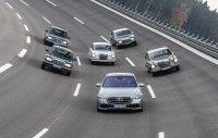 Die neue Mercedes S-Klasse und ihre Vorgänger