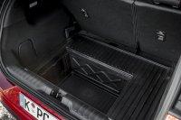 Der Ford Puma hat ein 80 Liter großes Staufach unter dem Ladeboden im Kofferraum