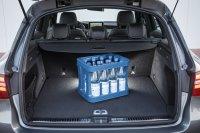 Der Kofferraum hat um 80 Liter auf 550 Liter zugelegt, maximal passen 1.600 Liter hinter die große Klappe, ein Plus von 50 Litern