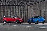 Peugeot hat 3008 und 5008 geliftet
