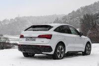 Markant und charmant: Das coupéhafte Heck des Audi Q5 Sportback