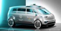 Der E-Bulli wird das erste VW-Roboterauto
