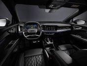 Von der Anordnung her ist vieles im Q4 typisch Audi. Aufgeräumt, übersichtlich, ja, auch hier im Vorserienauto schon hochwertig und klasse verarbeitet