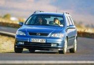 1998 startet die zweite Generation des Astra (G)