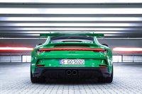 Wie andere Elfer hat der neue GT3 ein über die gesamte Fahrzeugbreite verlaufendes Rücklicht