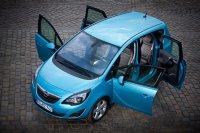 Der Opel Meriva (Typ B) kam 2010 in der zweiten Generation Im Kompaktformat auf den Markt, im Vergleich zum Vorgänger deutlich gewachsen und mit einem besonderen Türkonzept