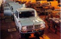 Als erster koreanischer Kleinwagen geht zum Modelljahr 1974 der Kia Brisa an den Start
